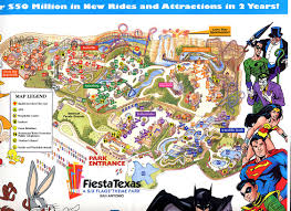 6 Flags St Louis Park Maps