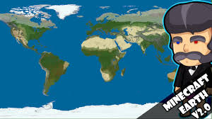 Map Of The Earth Minecraft Earth 1 1500 Scale Version 2 Major Differences Youtube