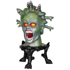 halloween animatronics sale shop gemmy medusa musical animatronic tabletop indoor halloween