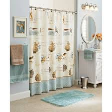 Better Homes And Gardens Bathroom Accessories Walmart Com by Better Homes And Gardens Costal Collage Fabric Shower Curtain