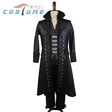 Captain Hook Halloween Costume Aliexpress Buy Captain Hook Cosplay Costume