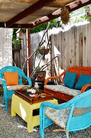 themed patio an easy patio update with island inspired color