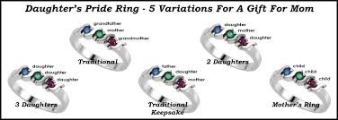 4 mothers ring buy a s birthstone ring today the gift