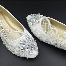 wedding shoes for girl wedding flats bridal ballet shoes comfortable flats lace shoes