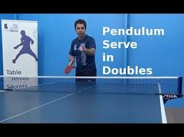 table tennis doubles rules pendulum serve in doubles table tennis pingskills youtube