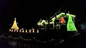 a beautiful christmas lights show in alabaster al youtube