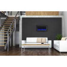 Wall Mount Fireplaces In Bedroom Napoleon Allure Linear Wall Mount Electric Fireplace Hayneedle