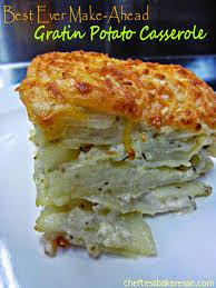 chef tess bakeresse best make ahead potato gratin casserole