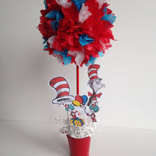 dr seuss centerpieces shop cat in the hat birthday party on wanelo