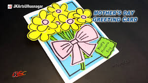 diy easy greeting card for mother u0027s day teacher u0027s day jk arts