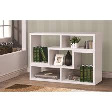 White Electric Fireplace With Bookcase Furniture Home Dark Brown Polished Wooden Corner Electric