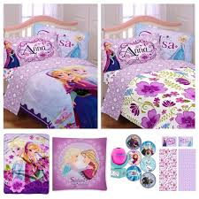 Twin Airplane Bedding by Disney Frozen Celebrate Love Complete Girls Bedding Set With Multi