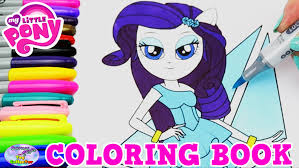 my little pony coloring book rarity mlpeg episode surprise egg and