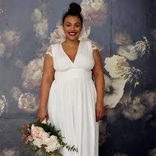 plus size wedding dresses are having a moment brides
