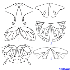how to draw easy fairy wings archives pencil drawing collection