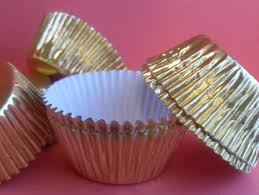 foil candy cups 100 mini gold foil cupcake liners baking cups cake pops cups