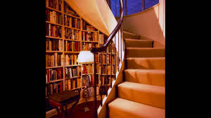 stair bookcase design youtube