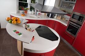 Red Cabinets In Kitchen by 16 Bold Red Kitchen Designs Big And Small