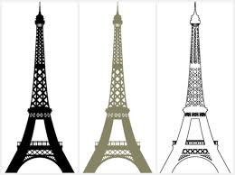 wall decor eiffel tower wall sticker thousands pictures