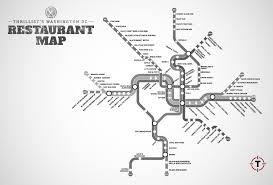 Washington Metro Map by Dc Metro Restaurant Map Washington Restaurants Near Stations