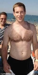 men shaved pubic hair image hilarious photos show men getting creative with their chest hair