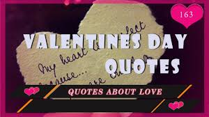 Valentines Day Quotes by Love Quotes Romantic Valentines Day Quotes Youtube