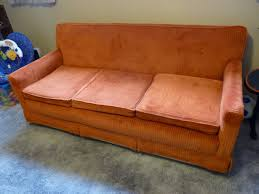 How To Upholster A Sofa by D I Y D E S I G N How To Re Upholster A Sofa