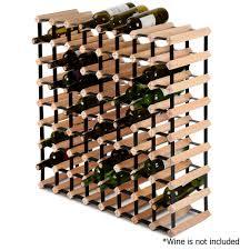 timber wine rack 72 bottles u2013 barware central