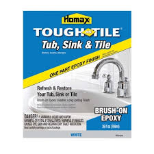 tough as tile sink and tile finish for refinishing tub homax tough as tile brush on finish 720773