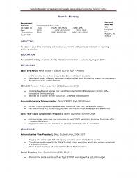 Correspondent Resume Example Journalism Resumes Resume For Your Job Application