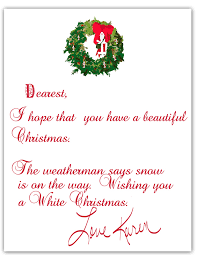 how to write a christmas letter learntoride co