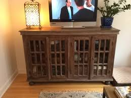 Media Cabinets With Doors Traditional Media Cabinet With Glass Doors Living Room The