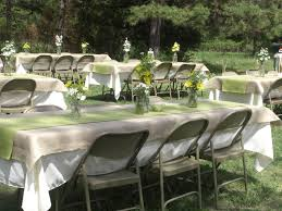 lime green table runner table setting idea burlap tablecloth with a lime green table runner