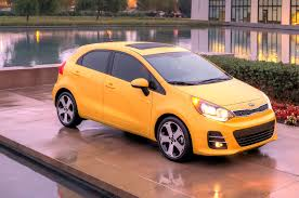 2016 kia rio gets new look 5 door loses six speed manual