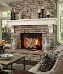 faux stone fireplace mantel fireplace ideas