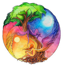 druids trees yin yang spirits of the tree of ideas