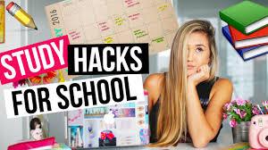 diy hacks youtube diy study hacks for school organization homework tips laurdiy