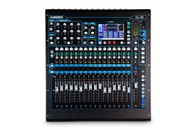 qu 16 rackmountable digital mixer for live studio and installation