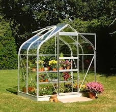 halls supreme 6x4 greenhouse horticultural