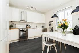 sol pvc pour cuisine cuisine sol noir avec carrelage cuisine noir et blanc free