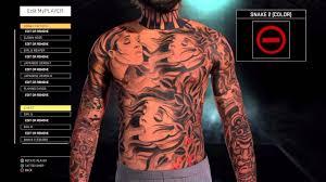 full body tattoo nba 2k16 nba2k16 tips tricks advance full body best tattoos youtube