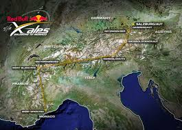 Alps On A Map Red Bull X Alps 2009 Freiluft Blog