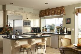 Curtain For Kitchen Window Decorating Beautify Your Kitchen With The Curtain Countertops