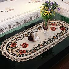 tablecloth for coffee table coffee tablecloth amazon com