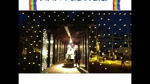 Passage Decor by Wedding Reception Passage Decor U0026 Entry India Youtube