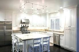 lighting kitchen island track lighting in kitchens stainless steel kitchen track lighting