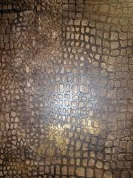 bb faux finish gold wall u0026 crocodile effect