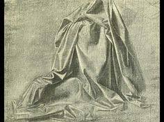 Leonardo Da Vinci Drapery Léonard De Vinci étude De Drapé Léonard De Vinci Pinterest