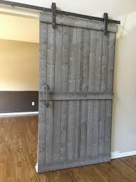 Barn Door Hardware Interior Sliding Barn Door Hardware Kit With Track Raw By Barndoorstore