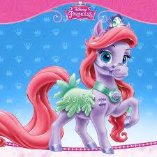disney princess palace pets images ariel u0027s pony seashell wallpaper